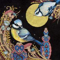 Bejewelled Birds (prints)