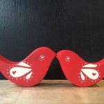 Red Love Birds